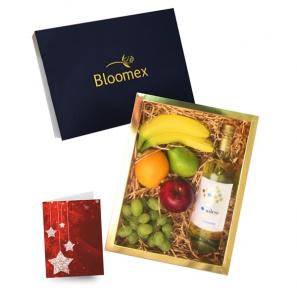 Fruit & White Wine Gift Box