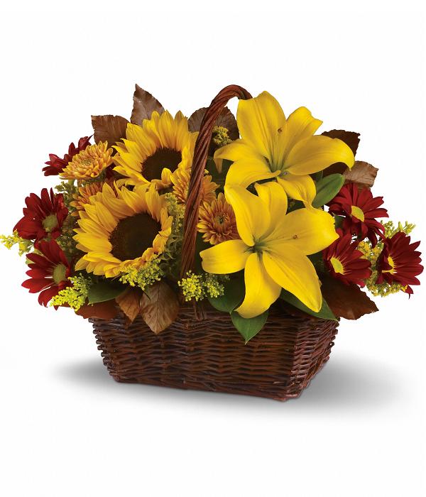 Golden Days Basket buy at Florist