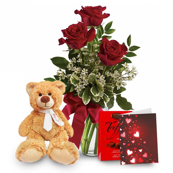 Rose, Teddy & Truffles Special buy at Florist