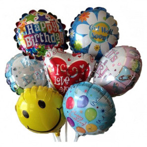 Mini Mylar Balloon buy at Florist