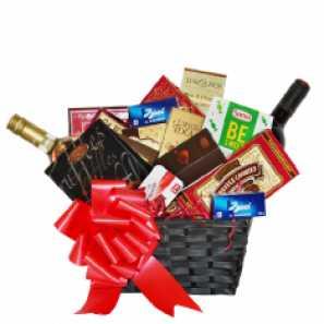 Wine & Gourmet Gift Basket buy at Florist